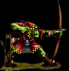 Bogenschützen der Orks